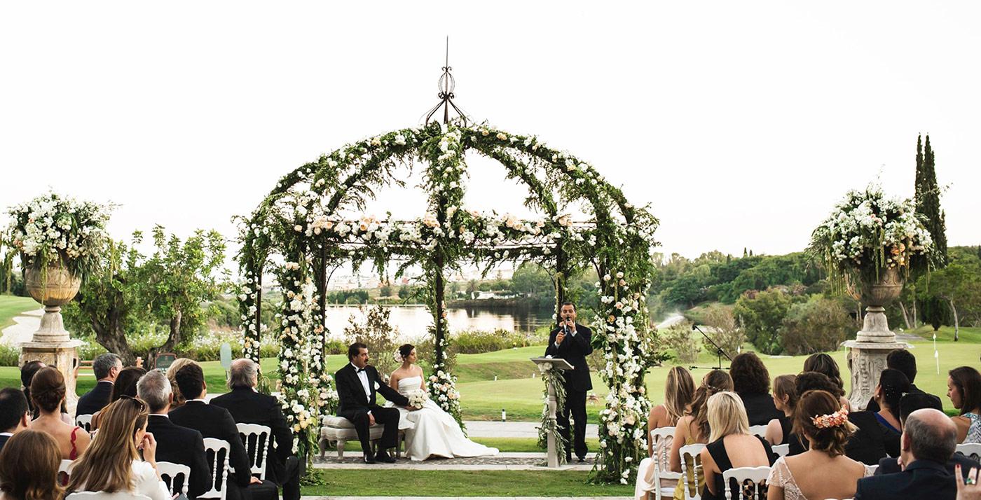 Luxury wedding planner Spain